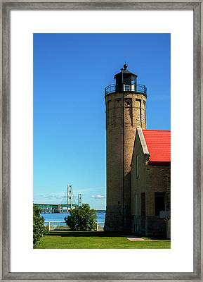 Old Mackinac Point Lighthouse Framed Print