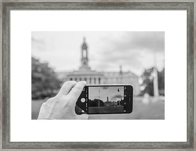 Old Main Penn State  Framed Print by John McGraw