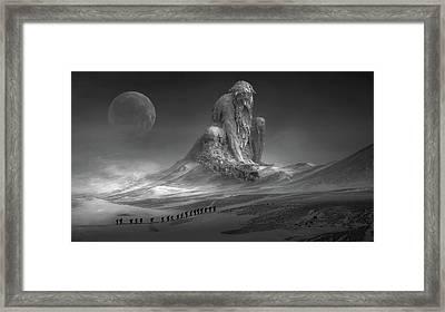 Old Man Winter Framed Print