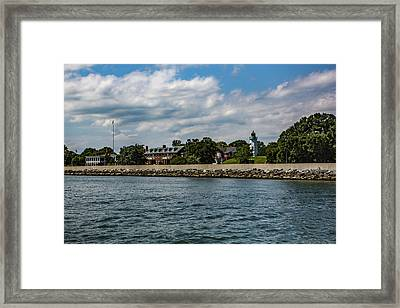 Old Point Comfort Light Framed Print