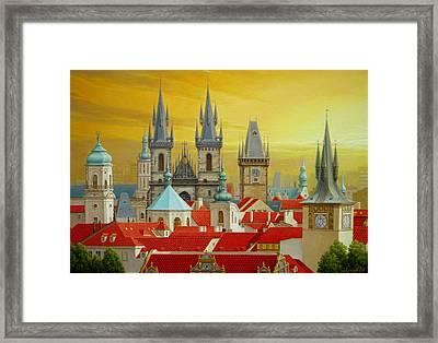Old Prague Framed Print