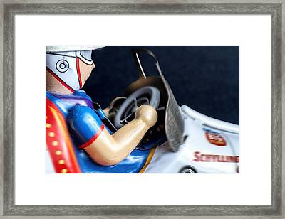 Old Race Car Framed Print by Rudy Umans