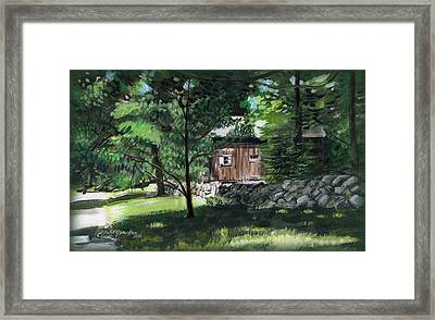 Old Redding Road, Aspetuck Framed Print