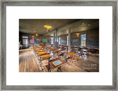 Old Schoolroom Framed Print by Inge Johnsson