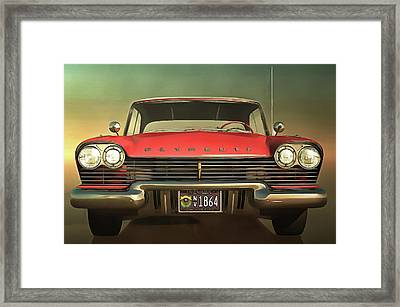 Old-timer Plymouth Framed Print