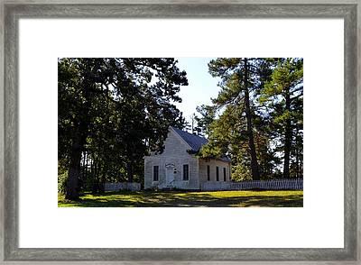 Old Union School House Framed Print by Rob Samons