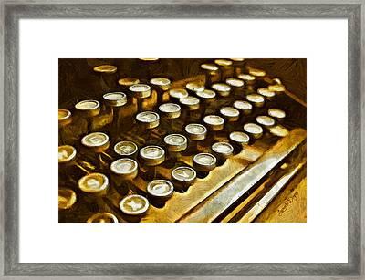Old Way - Da Framed Print by Leonardo Digenio