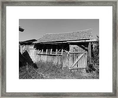 Old Workshop Framed Print