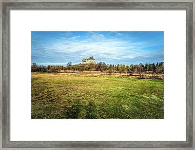 Olesko Castle  Framed Print