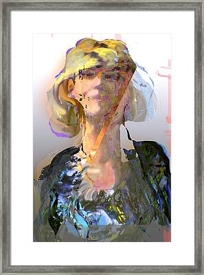 Olga Framed Print by Noredin Morgan