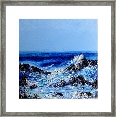 Keanae Point  Framed Print