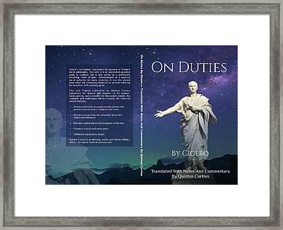 On Duties  Framed Print