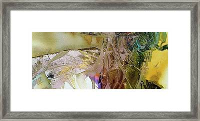 Framed Print featuring the painting On Gossamer Wing by Mary Sullivan