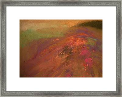 On High Framed Print by Anita Stoll