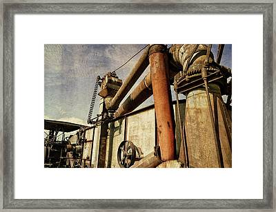 Framed Print featuring the photograph On The Farm by Michelle Calkins