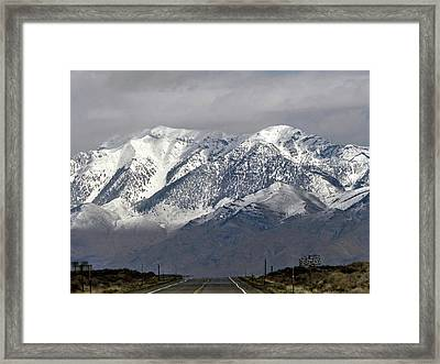 On The Road Series Framed Print