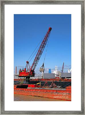 On The Waterfront  Framed Print by Olivier Le Queinec