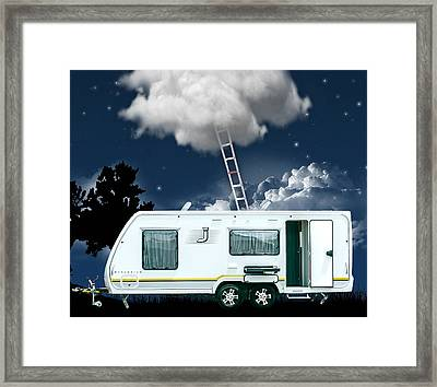 On Vacation Art Framed Print by Marvin Blaine