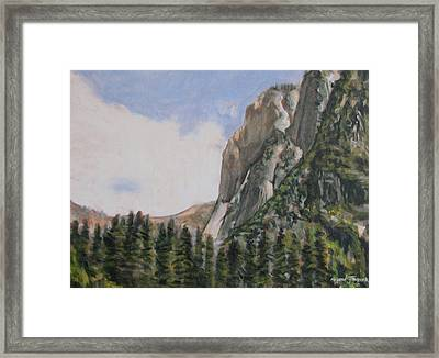 One Flight Up Framed Print by Howard Stroman