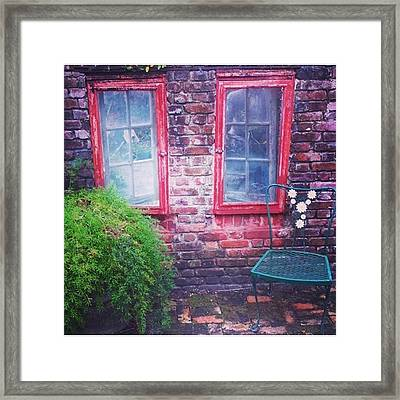 Vintage And Mysterious Framed Print