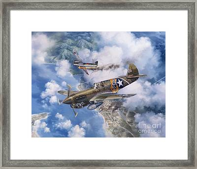 One Off At Darwin Framed Print by Randy Green
