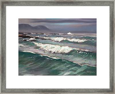 Onrusrivier Beach Framed Print