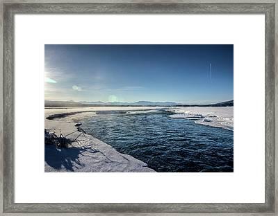Open Water Framed Print