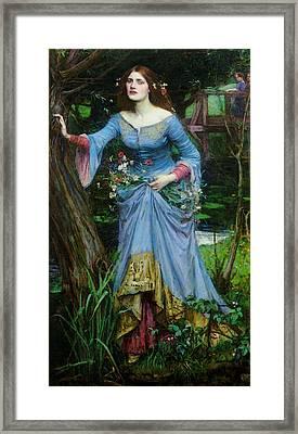 Ophelia Framed Print by John William Waterhouse