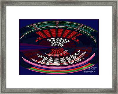 Opposit Arc Pattern Abstract Digital Graphic Art Interior Decorations Buy Painting Print Poster Pill Framed Print by Navin Joshi