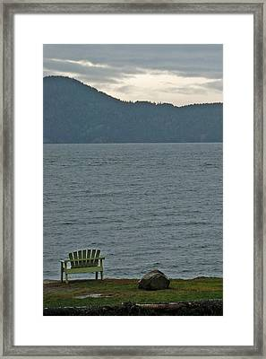 Orcas Island View Framed Print