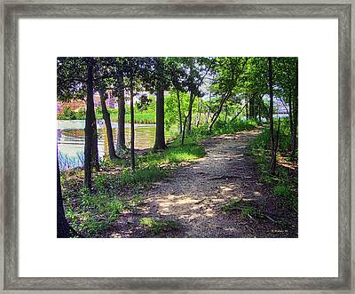 Orchard Beach Framed Print by Brian Wallace