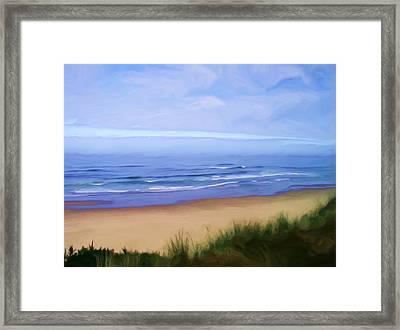 Oregon Coast Framed Print by Shelley Bain