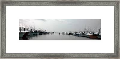 Oregon Inlet Framed Print by Kelvin Booker