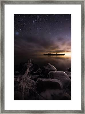Orion Framed Print by Jakub Sisak