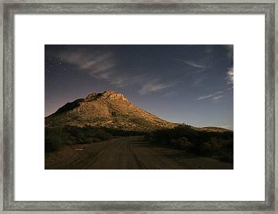 Oro Grande Nights Framed Print by JC Findley