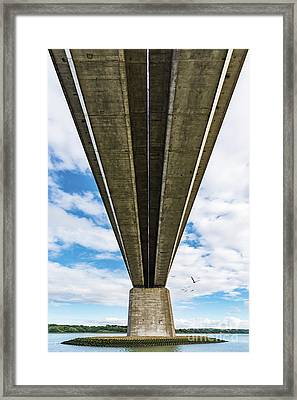 Orwell Bridge Framed Print by Svetlana Sewell