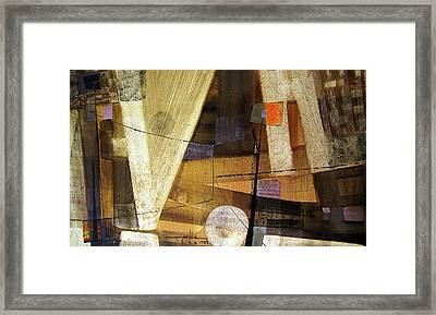 Os1959ar013ba Abstract Landscape Of Potosi Bolivia 15.6 X 26.6 Framed Print