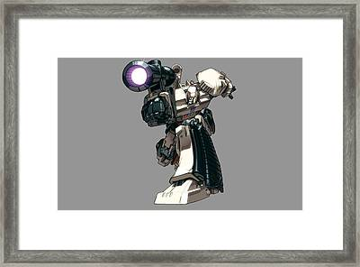 1 Other S Megatron Transformers                  Framed Print by F S