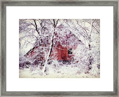 Our Barn  Framed Print