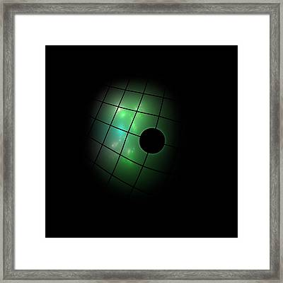 Out Of The Dark Framed Print by Steve K