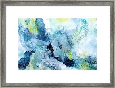 Out Of The Depths Framed Print by John Keller