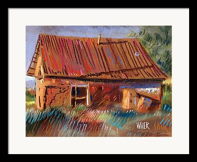 Outbuildings Drawings Framed Prints