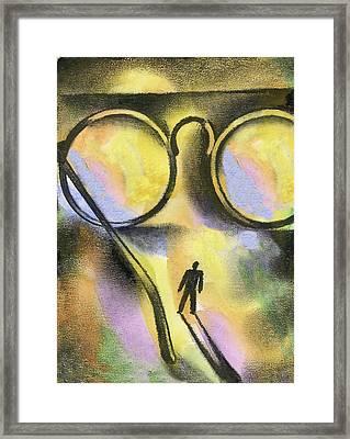 Outlook Framed Print by Leon Zernitsky