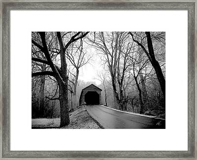 Outside Meems Bottom Bridge Framed Print
