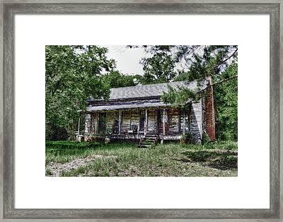 Ozark Alabama Homestead Framed Print by Frank Feliciano