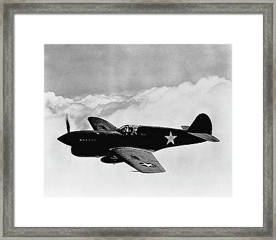 P-40 Warhawk Framed Print by War Is Hell Store