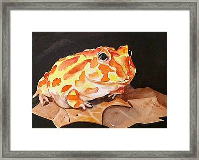 Pac Man Framed Print by Gina Hall