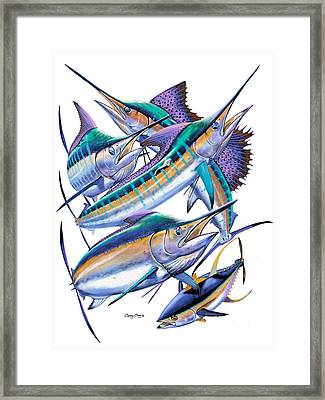 Pacific Gamefish  Framed Print