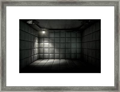 Padded Cell Dirty Spotlight Framed Print