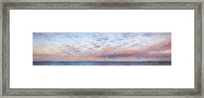 Paddling Out II Framed Print by Jon Glaser